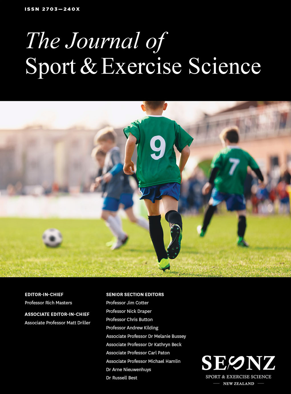 2017 – Volume 1, Issue 1 Proceedings of the 2017 Annual Conference of Sport and Exercise Science New Zealand