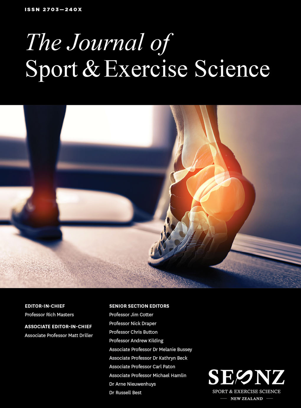 2018 – Volume 2, Issue 1 Proceedings of the 2018 Annual Conference of Sport and Exercise Science New Zealand