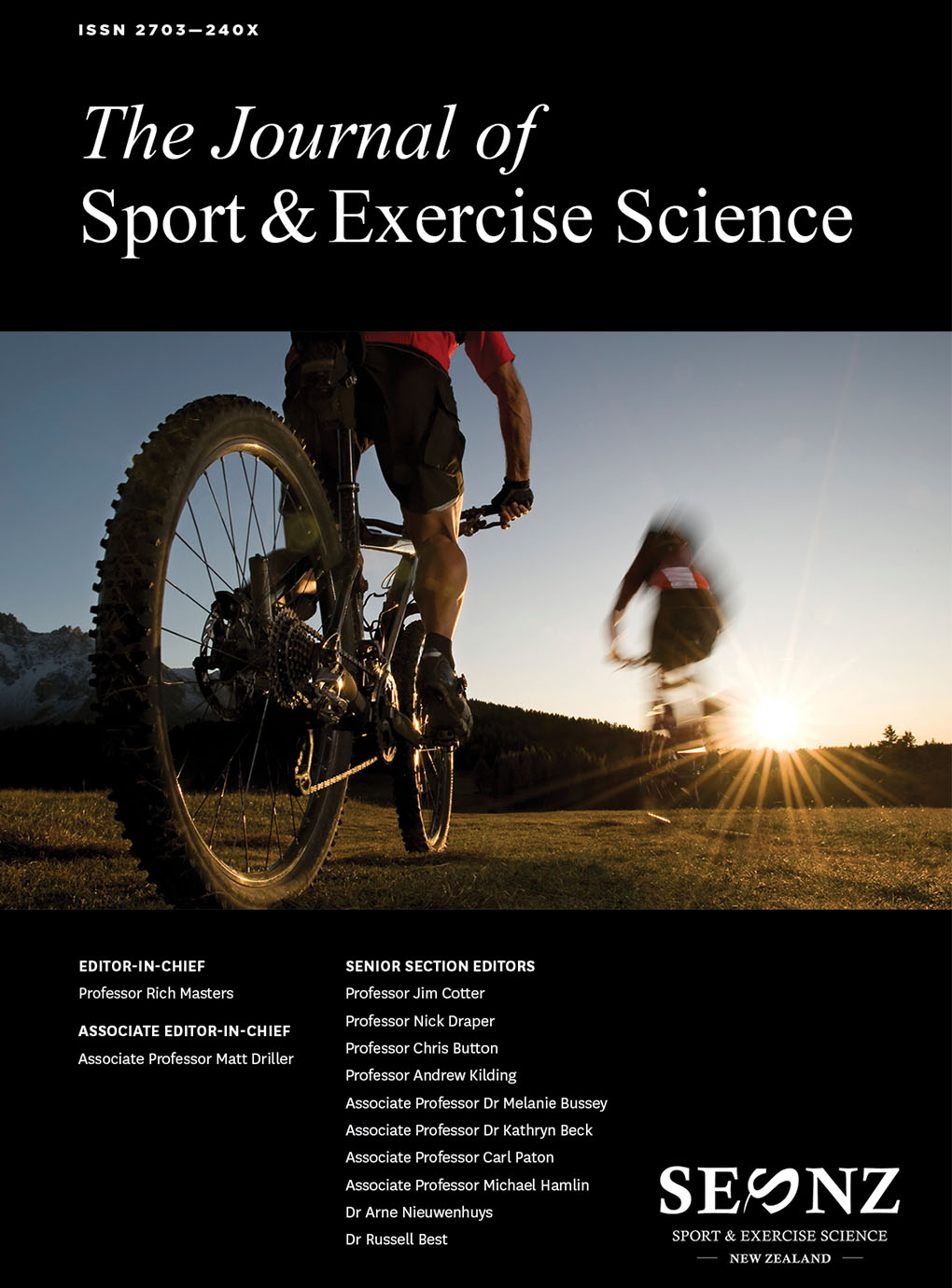 2019 – Volume 3, Issue 1 Proceedings of the 2019 Annual Conference of Sport and Exercise Science New Zealand