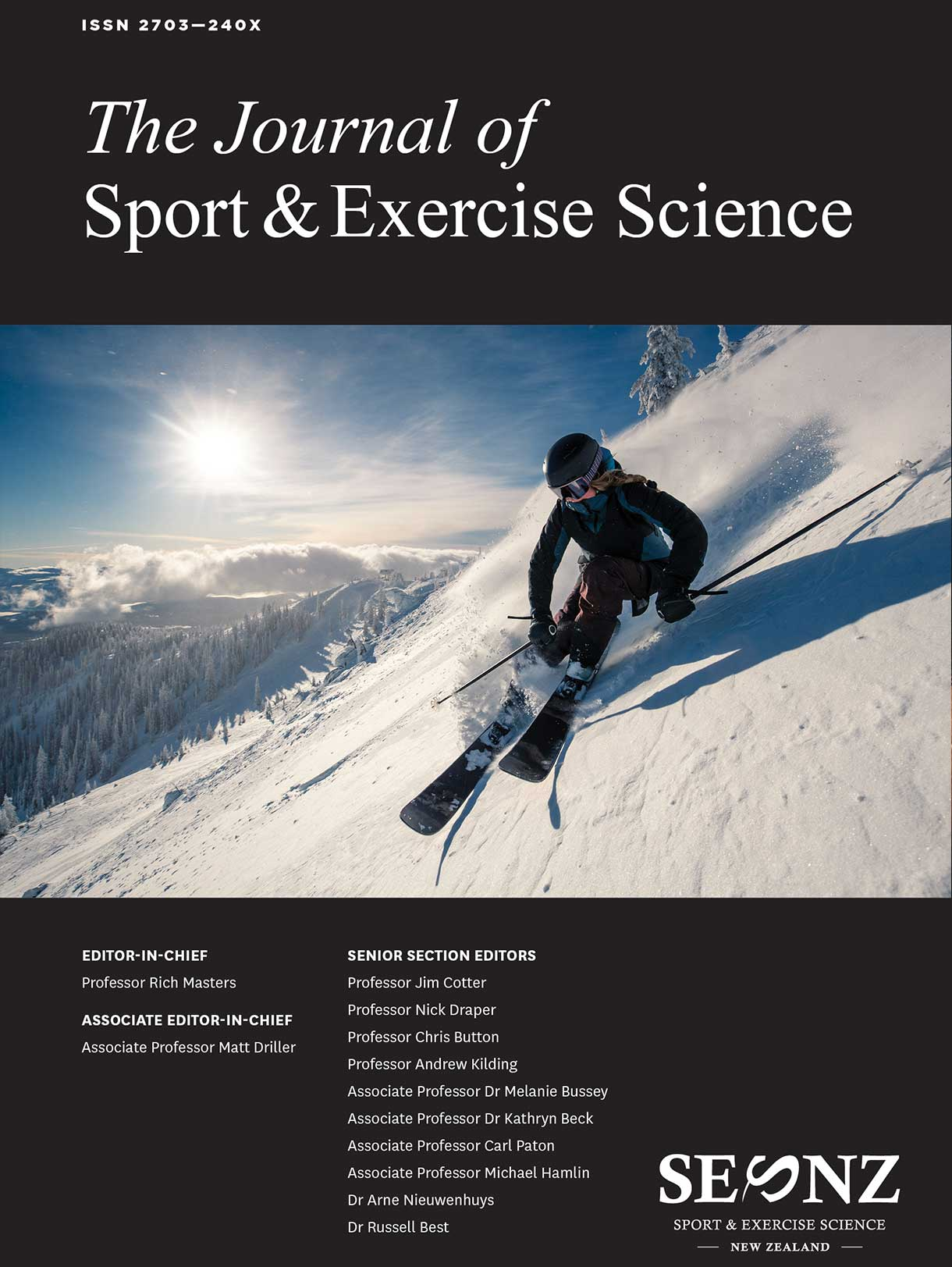2020 – VOLUME 4, ISSUE 3 PROCEEDINGS OF THE 2020 ANNUAL CONFERENCE OF SPORT AND EXERCISE SCIENCE NEW ZEALAND